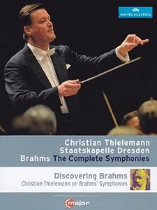 Brahms: Complete Symphonies [Christian Thielemann, Staatskapelle Dresden] [Blu-ray] [2014] [Region Free]