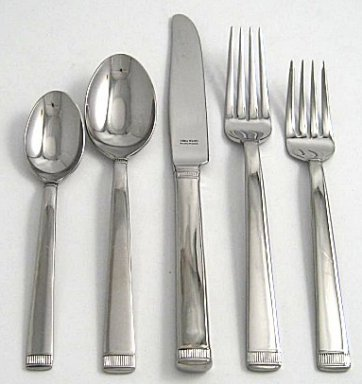 Wedgwood Vera Wang Stainless Chime 3-Piece Flatware Serving Set