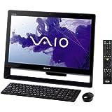 ソニー(VAIO) VAIO Jシリーズ J248 W7H 64/Ci5/21.5 Full HD/4G/BD/2T/W-LAN/Office/TV/ブラック VPCJ248FJ/B