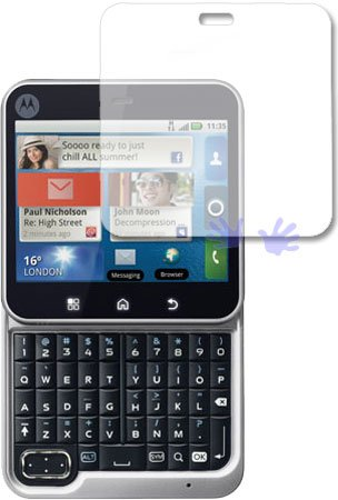 Screen Protector for Motorola FLIPOUT MB511