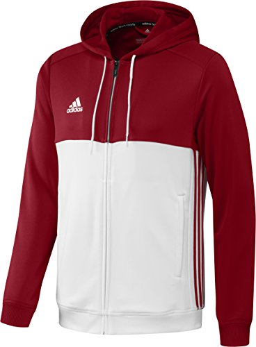 adidas-t16-mens-hooded-top-hoodie-multi-coloured-power-red-white-sizes