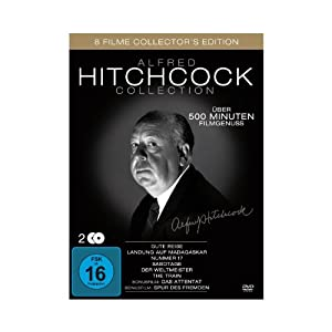 Alfred Hitchcock Collection (8 Filme ) [2 DVDs]