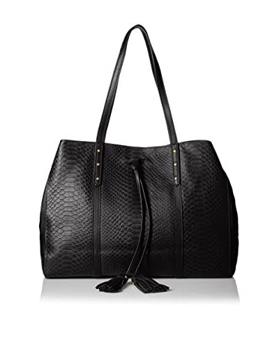 Isabella Fiore Women's Margo East/West Tote, Black