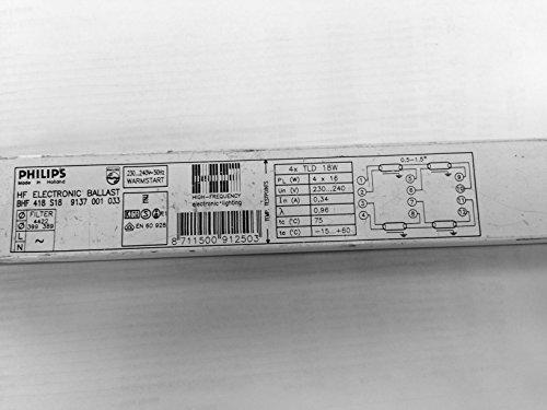 PHILIPS HF-B 418 S18 BALLAST 4X18W