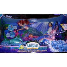 Disney Little Mermaid Shimmering Lights Dolphin Chariot with Bonus Shimmering Lights Ariel & Prince Eric Dolls - Buy Disney Little Mermaid Shimmering Lights Dolphin Chariot with Bonus Shimmering Lights Ariel & Prince Eric Dolls - Purchase Disney Little Mermaid Shimmering Lights Dolphin Chariot with Bonus Shimmering Lights Ariel & Prince Eric Dolls (Disney, Toys & Games,Categories,Dolls,Playsets,Fashion Doll Playsets)