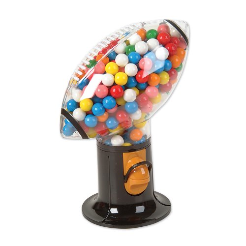 Football Gumball Machine - Peanut and Snack Dispenser (Football Dispenser compare prices)