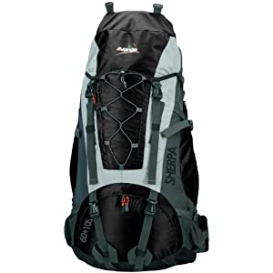 Vango Sherpa 60+10 S Rucksack (Black)