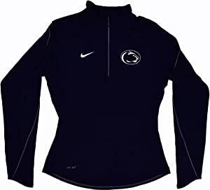 Nike Penn State Nittany Lions Ladies Element Quarter-Zip Pullover Performance Long... by Nike