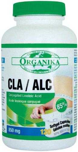 Organika Cla - Conjugated Linoleic Acid 85%, 1000 Mg, 120 Softgels
