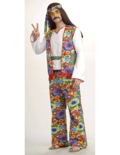Hippie Dippie Man Halloween Costume - Most Adults