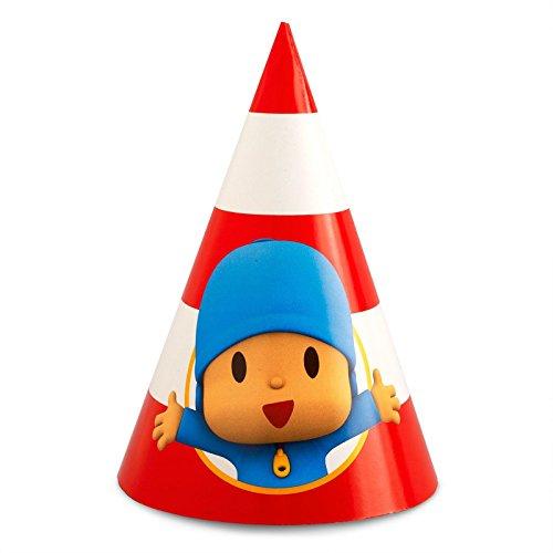 Pocoyo Cone Hats (8)