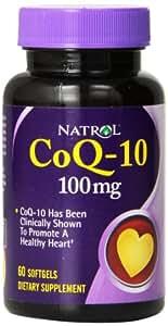 Natrol CoQ-10 100mg Softgels, 60-Count