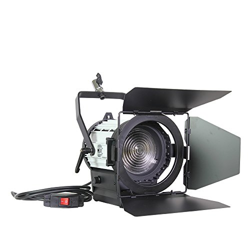 Top-Fotos 100W Led Video Studio Dimmer Built-In Fresnel Spot Continuous Lighting For Camera Video