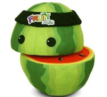 Fruit Ninja Mini Plush Watermelon Toy Doll-christmas gift (Fruit Ninjas compare prices)