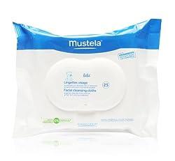 MUSTELA FACIAL CLEANSING CLOTHS - 25PK