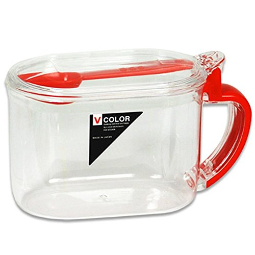Japanese Plastic Sugar Salt Tea Broth Mix Corn Starch Storage Container w/ Spoon (Corn Starch Container compare prices)