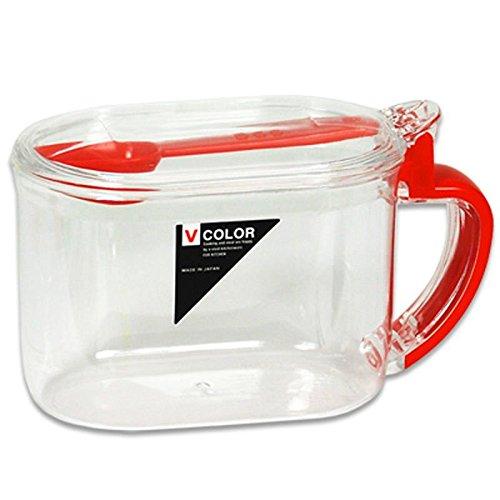 Japanese Plastic Sugar Salt Tea Broth Mix Corn Starch Storage Container w/ Spoon (Corn Starch Container compare prices)
