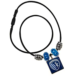 MLS Kansas City Wizards Life Tiles Necklace with Beads by WinCraft