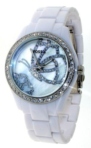 Fossil Stella Glitz Butterfly Watch