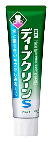 ディープクリーン S薬用ハミガキ 100g