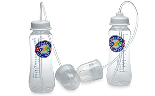 Podee Hands-Free Baby Bottle Feeding System (Twin Pack)