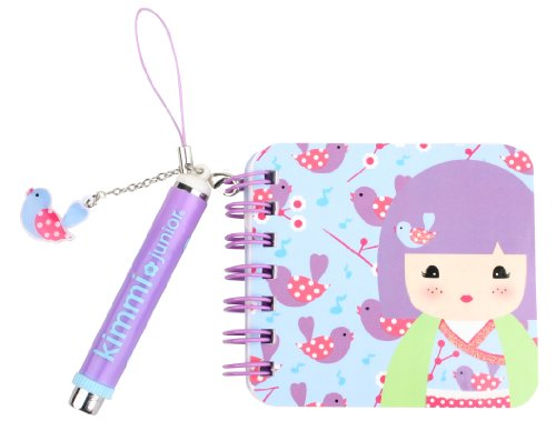 Kids Preferred Kimmidoll Junior Mini Notebook and Pen, Aesha