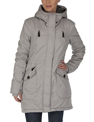 Bench, Parka Donna Tara III, Grigio (Neutral Grey), S