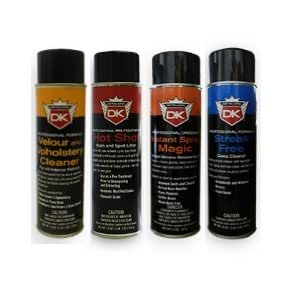 Detail King Car Care Aerosol Interior Cleaning Value Kit