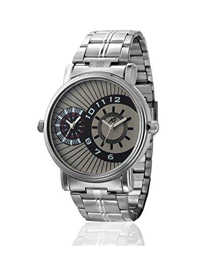 Yepme Men's Dual Movement Watch – Grey/Silver — YPMWATCH2817