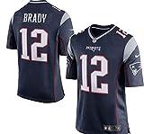 NIKE England Patriots Tom Brady Blue Youth Game Jersey