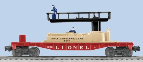 Lionel 6-36870 #6812 PWC Track Maintenance Car