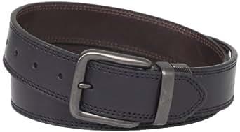 Levi's Mens 40mm Reversible Leather Belt, Black/Brown, Medium