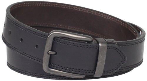 Levi's Mens 40mm Reversible Leather Belt, Black/Brown, Medium (Levi Black Belt compare prices)