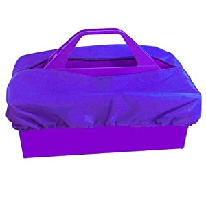 Intrepid International Tote Tray Cover, Purple