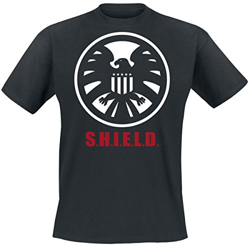 Agents of S.H.I.E.L.D. S.H.I.E.L.D. Mark T-Shirt nero M