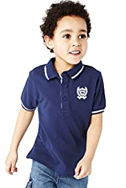 Pure Cotton Polo Shirt with Stay New&#8482;