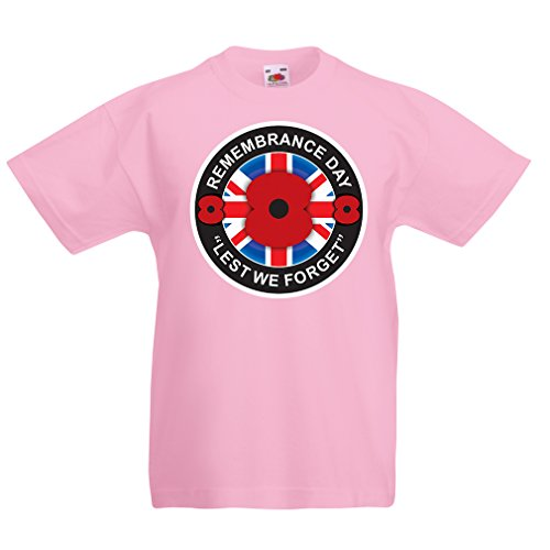 funny-t-shirts-for-kids-remembrance-day-3-4-years-pink-multi-color
