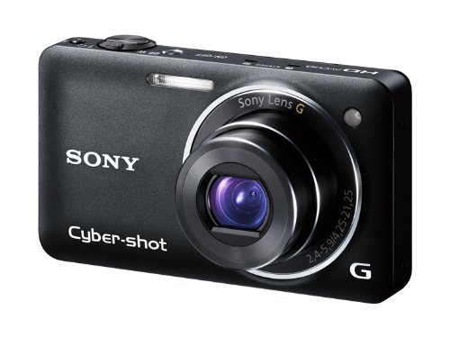 SONY デジタルカメラ Cybershot WX5 (1220万画素CMOS/光学x5) ブラック DSC-WX5/B