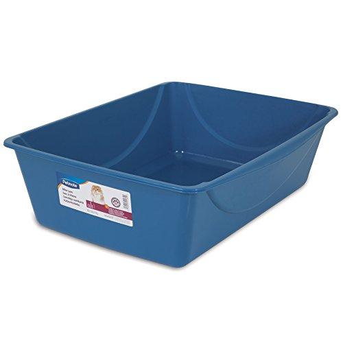 Petmate Litter Pan, Blue/Gray, Jumbo (Litter Pan Jumbo compare prices)
