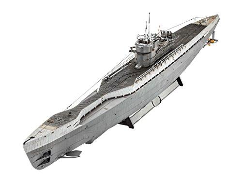 Revell-05133-Modellbausatz-German-Submarine-Type-IX-C40-im-Mastab-172