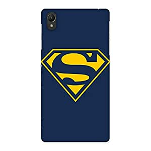 AJAYENTERPRISES Wow S Yellow Supper Back Case Cover for Sony Xperia Z2