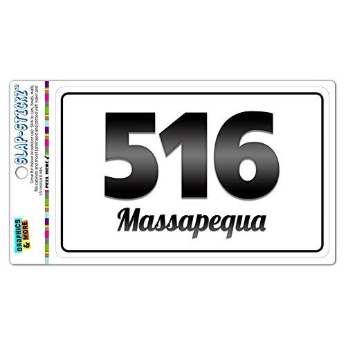 area-code-bw-window-laminated-sticker-516-new-york-ny-albertson-seaford-massapequa