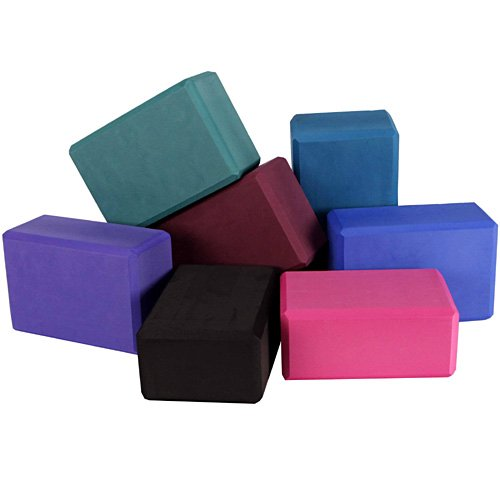 Imagen de YogaAccessories (TM) 4 de espuma'' Yoga Block - Bosque Verde, Color Verde Bosque
