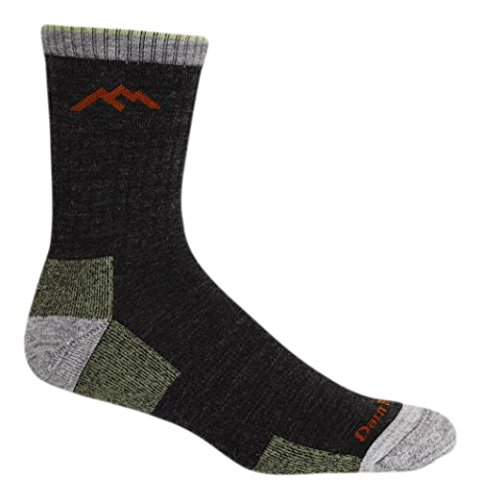 Darn Tough Vermont Men's Merino Wool Micro Crew Cushion Hiking Socks