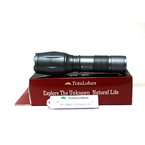 tactical flashlight as seen on tv by totalohan g700 flashlight with 550 lumen. Black Bedroom Furniture Sets. Home Design Ideas