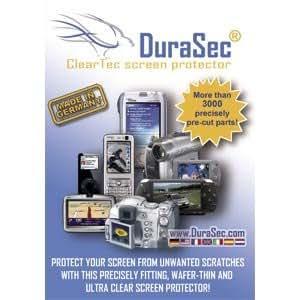Canon DuraSec ClearTec Pack de 5 Films de protection d'écran pour Canon EOS 700D