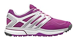 adidas Women\'s W Adipower S Boost Golf Shoe, Flash Pink/Metallic Silver/Running White, 9.5 M US