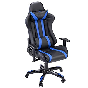 Giantex Executive Racing Style High Back Reclining Chair Gaming Chair Office Computer