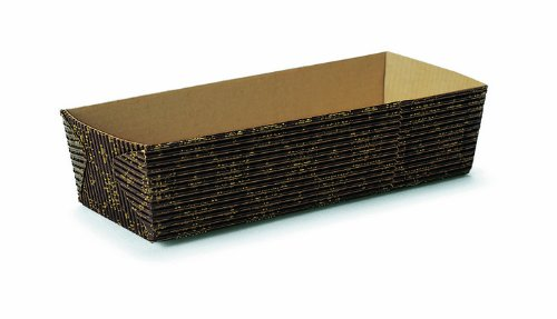 Welcome Home Brands Rectangular Loaf Black Crest 6.9-Inch Length by 2.6-Inch width by 1.8-Inch Height, One Case of 250 Units