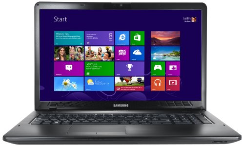 Samsung 350E7C 17.3-inch Laptop (Black) - (Intel Pentium B970 2.3GHz Processor, 6GB RAM, 750GB HDD, DVDSM DL, LAN, WLAN, BT, Webcam, Integrated Graphics, Windows 8)